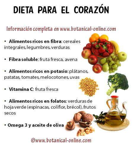 5 alimentos saludables para el corazón - cuidandose.com
